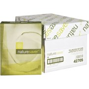 Nature Saver Recycled Paper - 100%, White, 5000 / Carton (Quantity)