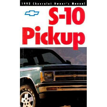 Bishko OEM Maintenance Owner's Manual Bound for Chevrolet Truck S-10 Pickup