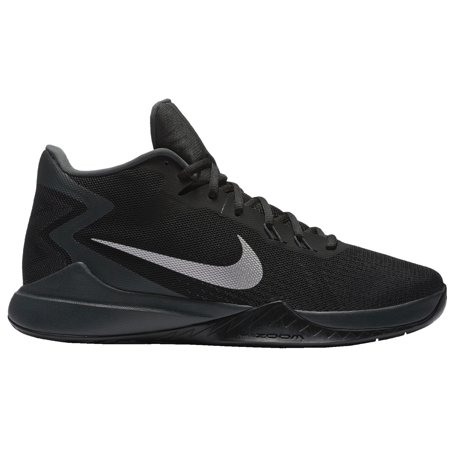 Nike Men's Zoom Evidence Basketball Shoes (Black/White, ...
