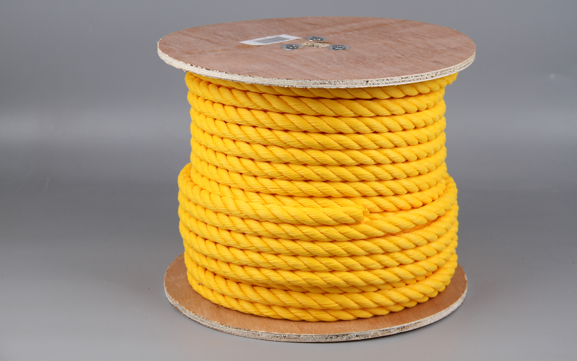 Rope King TP-34200Y Twisted Poly Rope Yellow 3//4 inch x 200 feet