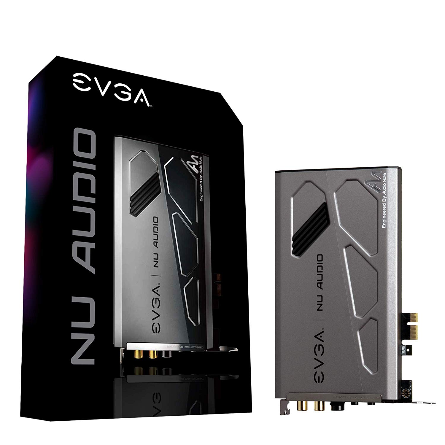 EVGA NU Audio Card PCIe Add-On Sound Card Engineered by Audio Note