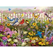 White Mountain Puzzles Birds of Summer Puzzle, 550 Pieces