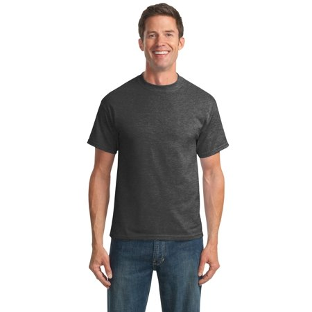 Port & Company® Tall Core Blend Tee. Pc55t Dark Heather Grey Lt - image 1 de 1