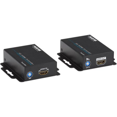 Black Box 3D HDMI CATx Extender - 1 Input Device - 1 Output Device - 200 ft Range - 2 x Network (RJ-45) - 1 x HDMI In - 1 x HDMI Out - Full HD - 1920 x 1080 - Category 6 - Wall Mountable - TAA