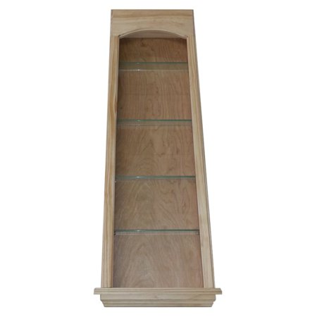 WG Wood Lawrence Niche 17W x 45.5H in. Recessed Wall Niche