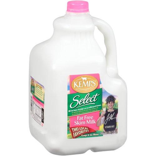 Kemps Select Fat Free Skim Milk, 1 gal
