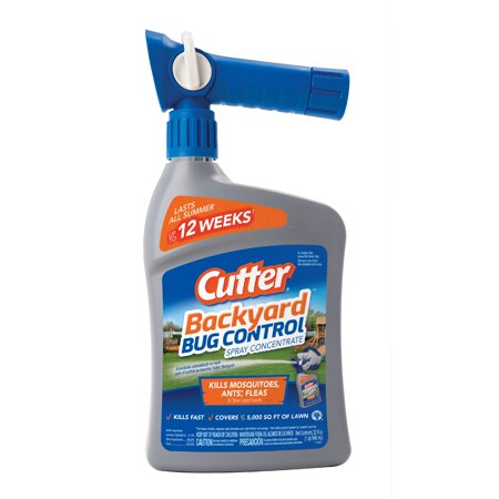 Cutter Backyard Bug Control Spray Concentrate, Ready-to-Spray, 32-fl oz
