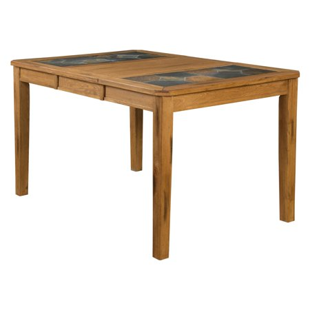 Sunny Designs Sedona Counter Height Rectangular Dining Table with Slate Top