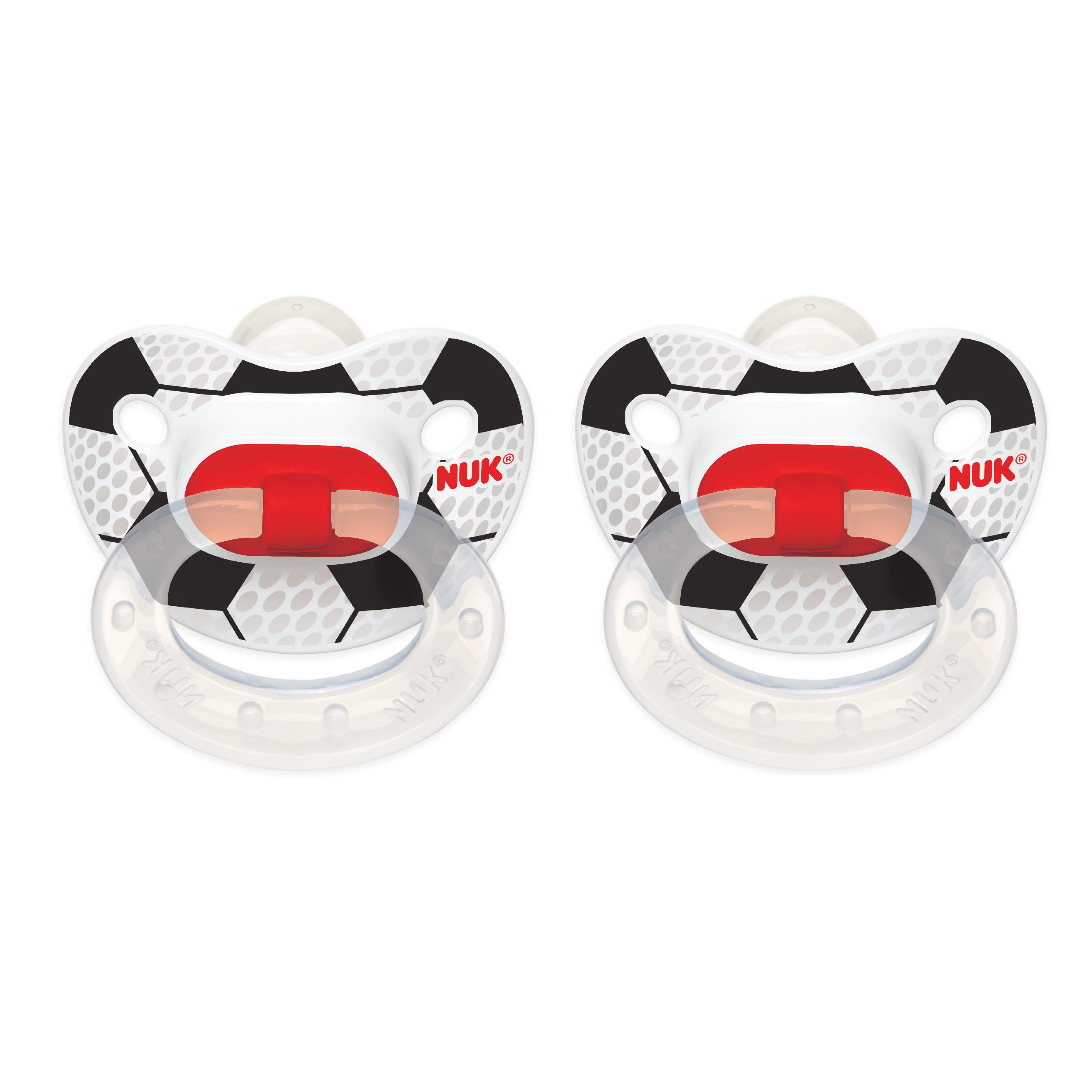 Nuk Orthodontic Pacifier 6-18M 8 CT by Nuk