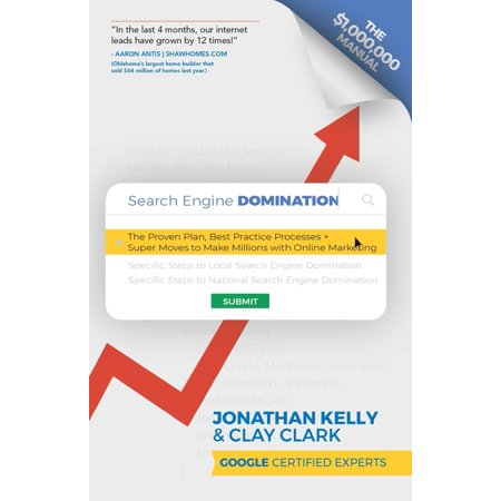Search Engine Domination : The Proven Plan, Best Practice Processes + Super Moves to Make Millions with Online Marketing (Paperback)