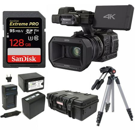 Panasonic HC-X1000 4K 24p Cinema Camcorder w/ 128GB SD & Pelican Case