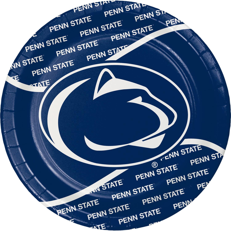 Pennsylvania State University Paper Plates, 8pk