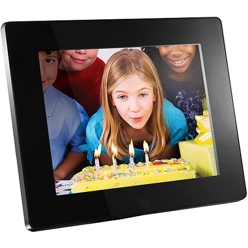 Aluratek 8 Hi-Res Digital Photo Frame
