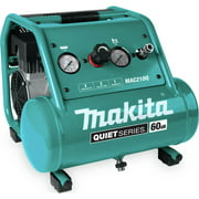 Makita MAC210Q Quiet Series 1 HP 2 Gallon Oil-Free Hand Carry Air Compressor