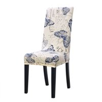 Stretch Spandex Short Slipcover Dining Chair Cover for Dining Room