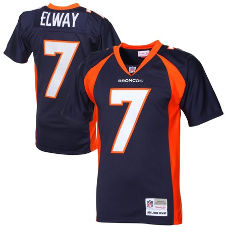 info for 5bb91 d7c38 John Elway Denver Broncos Mitchell & Ness 1998 Retired Player Vintage  Replica Jersey - Navy Blue