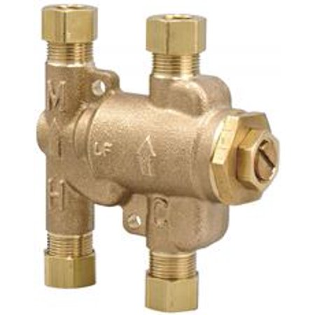 Thermostatic Mixing Valve 3/8 In. Lead Free