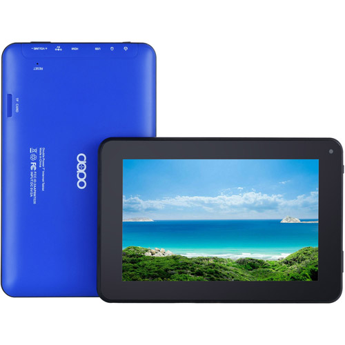 "Refurbished Double Power 7"" EM63-BLU Tablet 8GB Memory Dual Core"