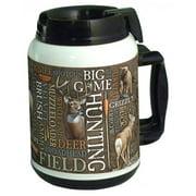 American Expedition TM64-250 64 oz.  Thermal Mug - Big Game Word Design