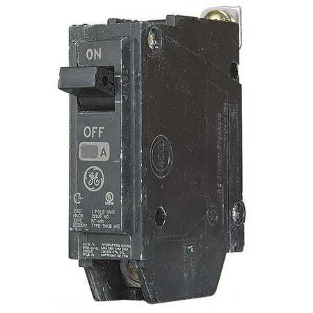 GENERAL ELECTRIC Bolt On Circuit Breaker,20A,1 Pole,THQB THQB1120