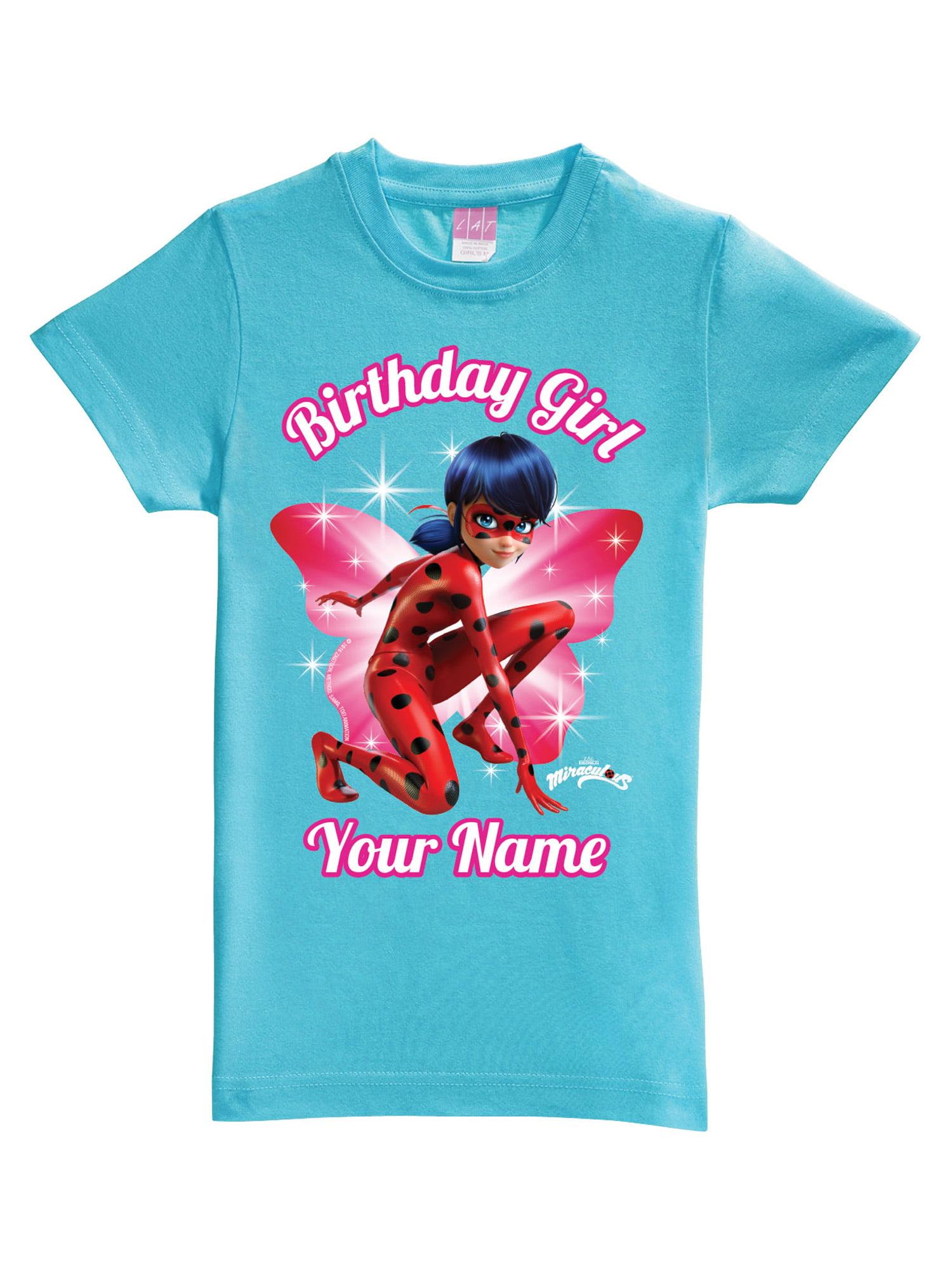 Ladybug Birthday Shirt Ladybug Birthday Party Shirt Girls Ladybug Birthday Shirt Birthday Shirt