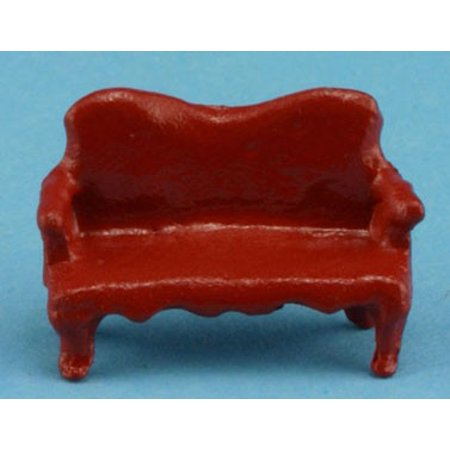 "Dollhouse 1/4"" Scale Mini Sofa"