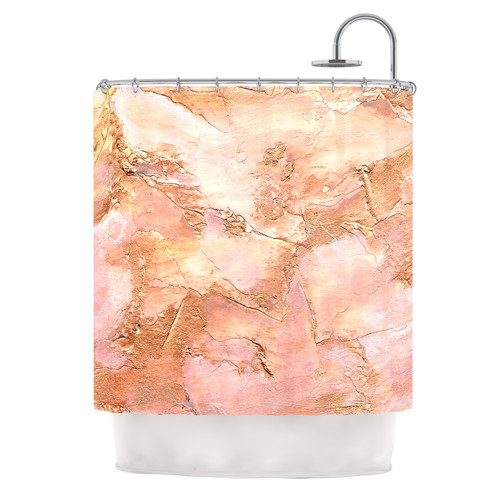 East Urban Home Bronze It by Rosie Brown Paint Shower Cur...