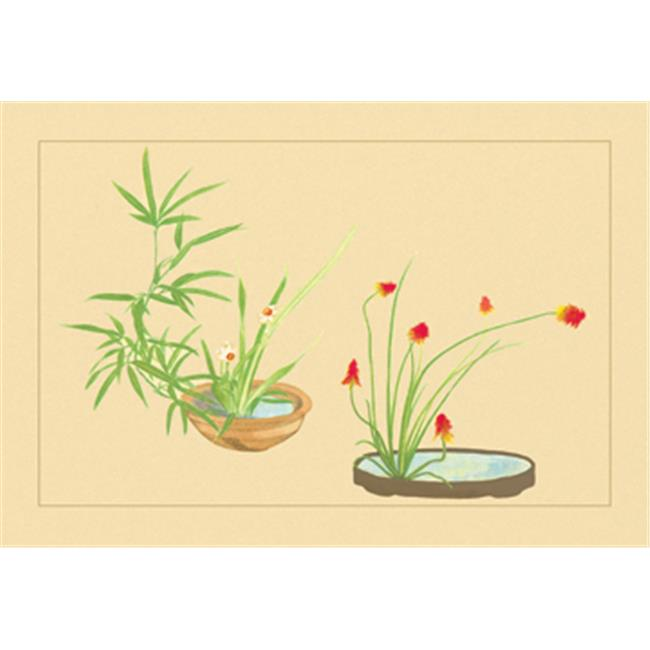 Buy Enlarge 0-587-04444-6P20x30 Bamboo  Narcissus  and Lily- Paper Size P20x30