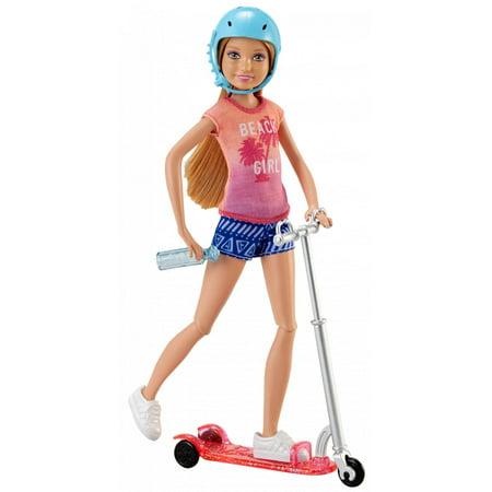 Barbie Stacie Doll & Scooter