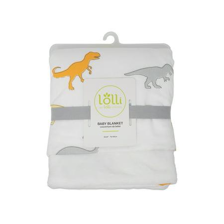 Lolli By Lolli Living, Baby Stroller Blanket - Dino Land