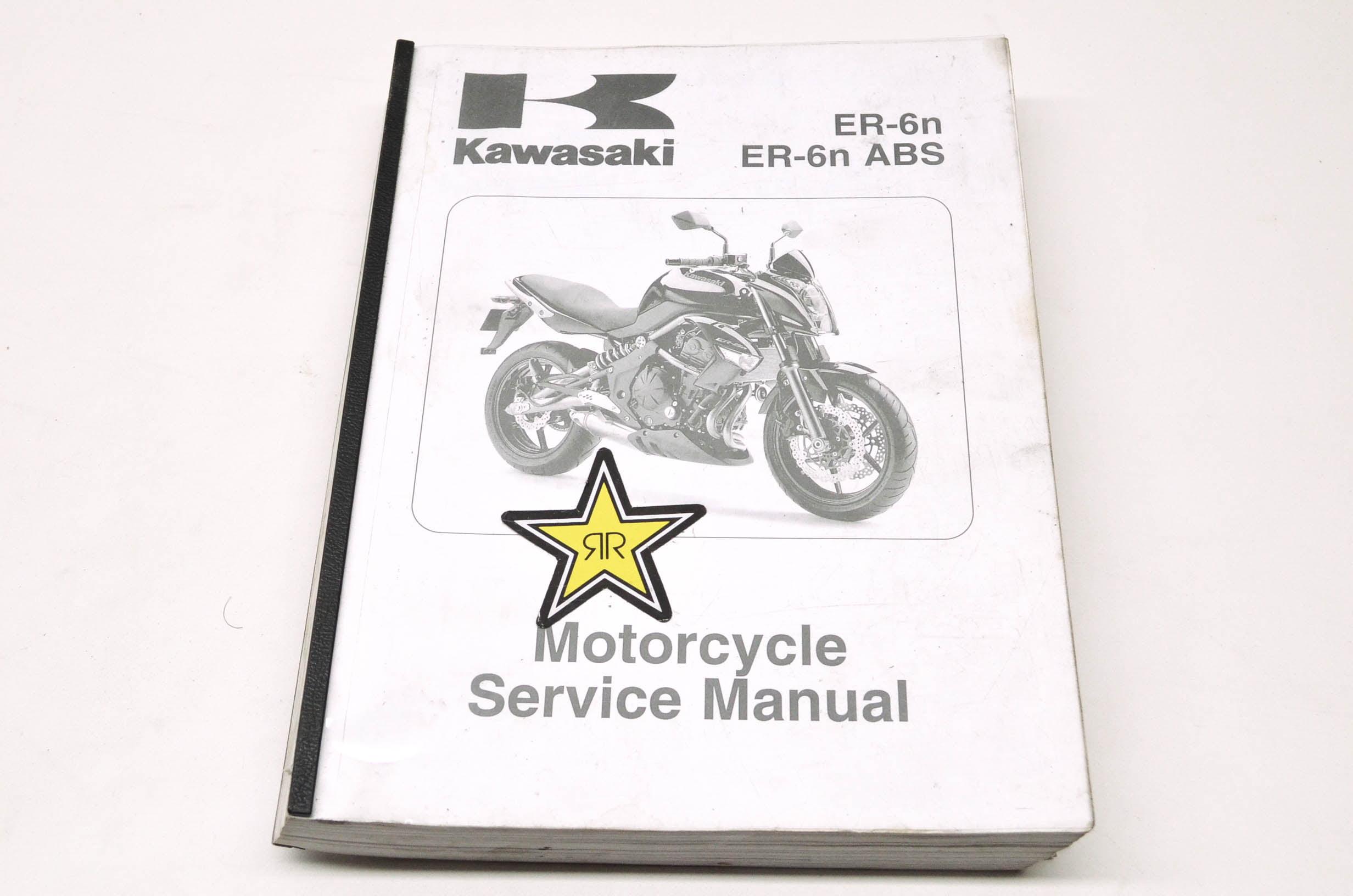 Kawasaki 99924-1418-02 ER-6n, ER-6n ABS Service Manual QTY 1 - Walmart.com