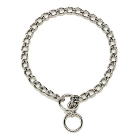 05525 A G2518 18 in. Chain Dog Collar, 2.5 mm