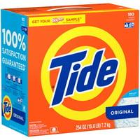 Tide Ultra High Efficiency Original Scent Powder 180 Loads 254 Oz