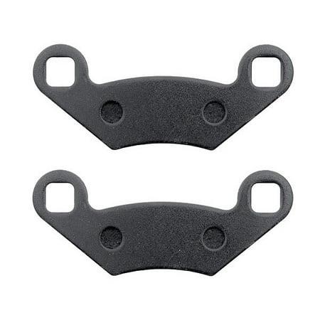 KMG Rear Brake Pads for 2008 Polaris 450 S Outlaw - Non-Metallic Organic NAO Brake Pads Set - image 2 of 4