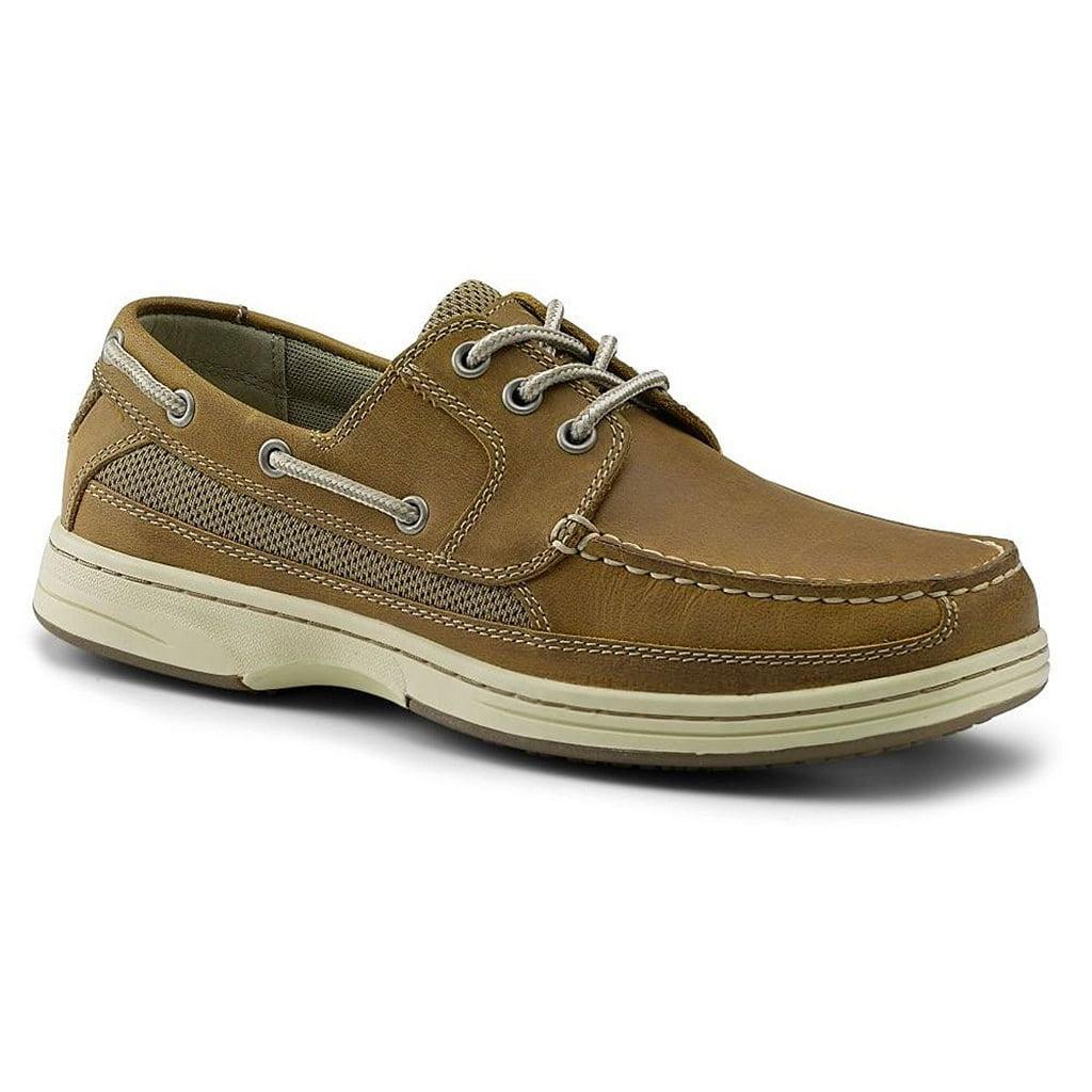 99d2fe3c06cce Dockers SureGrip Mens Pier Tan Boat Shoe Slip Resistant Work Shoes 7M