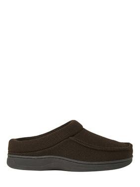 DF by Dearfoams Men's Herringbone Clog slippers