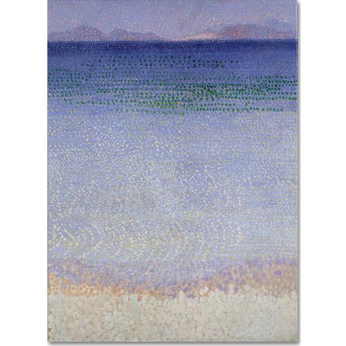 "Trademark Fine Art ""The Iles d'Or, 1891-92"" Canvas Art by Henri Cross"