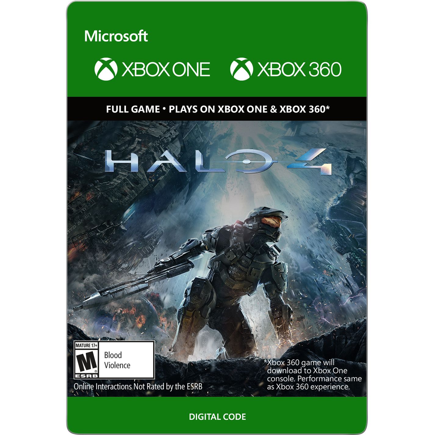 Xbox 360 Halo 4 (email delivery)