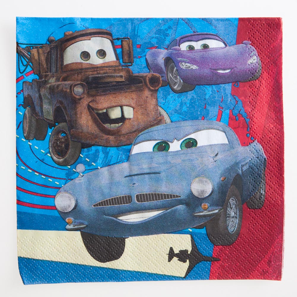 Disney's Cars 2 Lunch Napkins