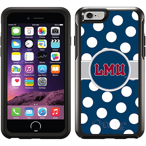 Loyola Marymount Polka Dots Design on OtterBox Symmetry Series Case for Apple iPhone 6