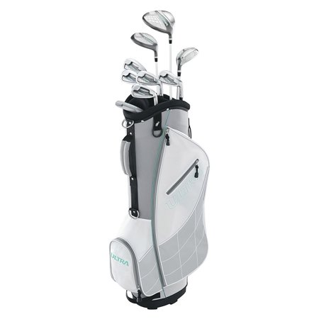 Wilson Ultra Womens Right Handed Complete Golf Club Set with Cart Bag,