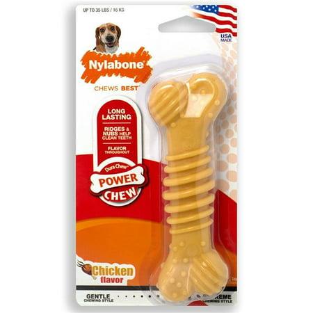 Nylabone 18214841845 Dura Chew Dental Pig Bacon,