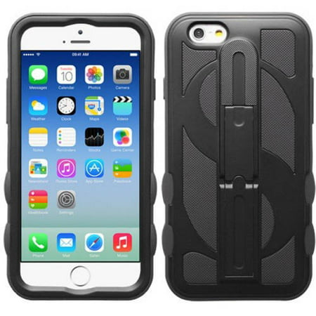 - Apple iPhone 6/6S MyBat Dollar Hybrid Protector Cover with Stand