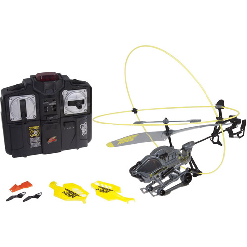Air Hogs Heli Cage Yellow by Spinalglide