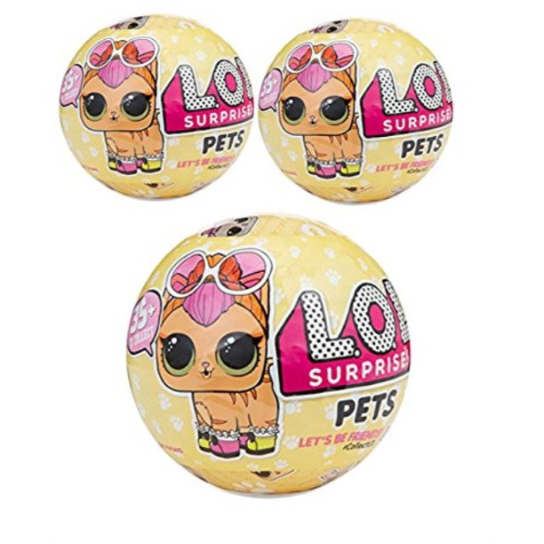 L O L Surprise Pets Doll Series 3 Wave 1 Mystery Unwrapping Toy