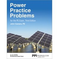 Ppi2pass Power Practice Problems for the Pe Exam, 3rd Edition (Hardcover) - More Than 560 Practice Problems for the Ncees Pe Electrical Power Exam (Paperback)