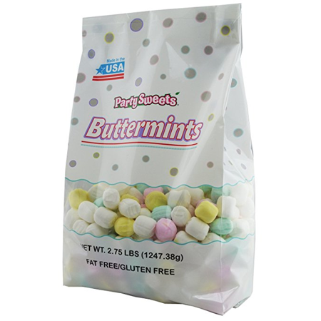 Party Sweets Assorted Pastel Buttermints, 2.75 lbs