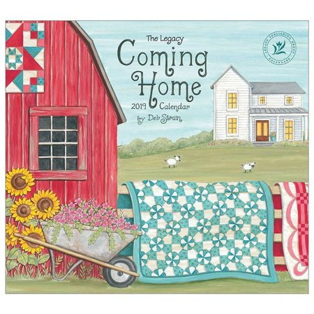 2019 Coming Home Strain Wall Calendar, More Folk Art by Legacy Publishing Group