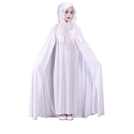 Girls - Gossamer Ghost Child Md Halloween Costume - Child Medium - Gossamer Costume