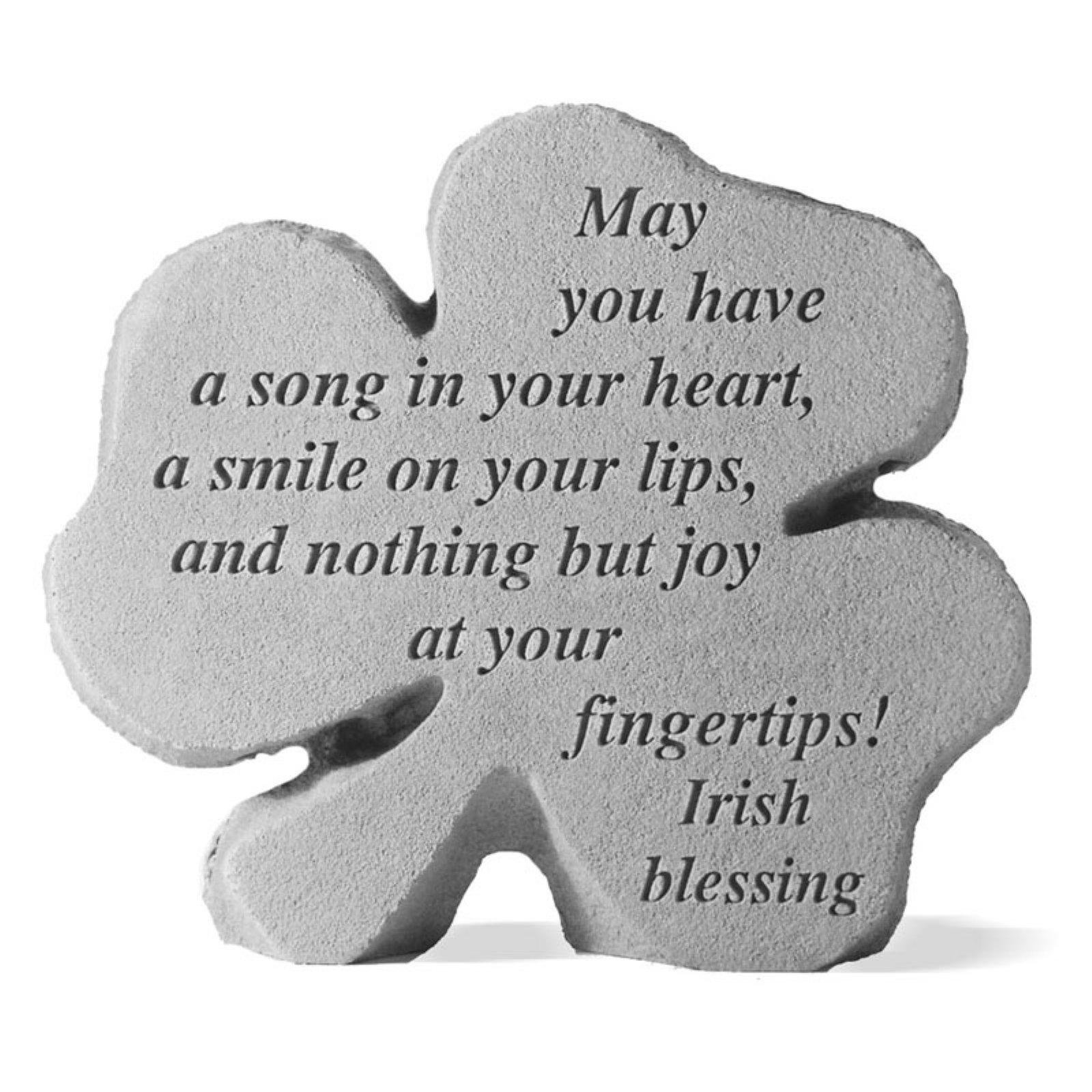 A Song In Your Heart Shamrock Garden Stone